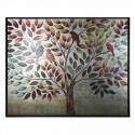 Cuadro lienzo moderno de árbol de tachuelas