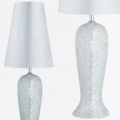 Lámpara de sobremesa Antique Mosiac con mosaico en plata