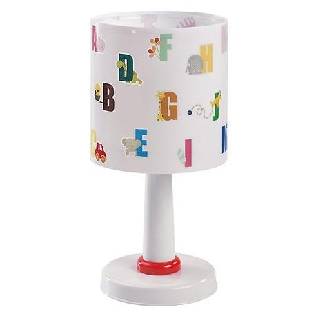 Comprar l mpara sobremesa infantil abc con letras de colores for Lampara sobremesa infantil
