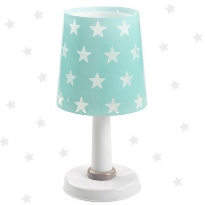 Lámpara infantil de sobremesa Stars en verde aguamarina
