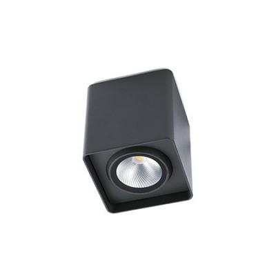 Lámpara techo para exterior LED Tami en gris oscuro