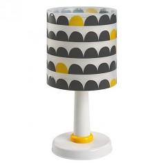 Lámpara infantil de sobremesa Wonder en gris y amarillo