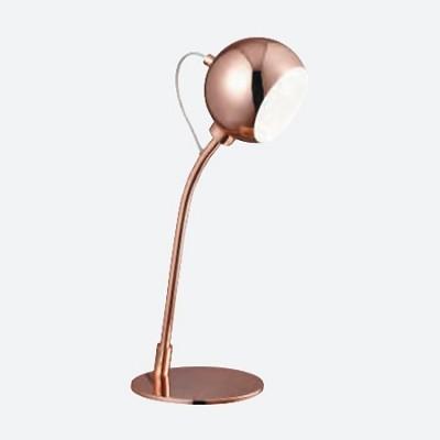 Lámpara de sobremesa Magnetic Heads LED metálica en cobre