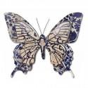 Set tres mariposas metal medianas y grande