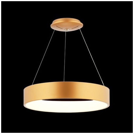 Comprar l mpara colgante led de dise o anneau d 39 or en oro for Lamparas led diseno