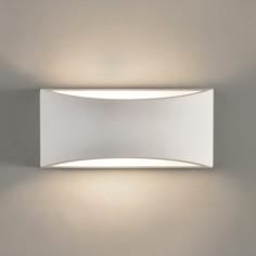 Lámpara de pared Dana en color blanco mate moderno