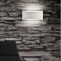 Aplique de pared Dana en color blanco mate moderno