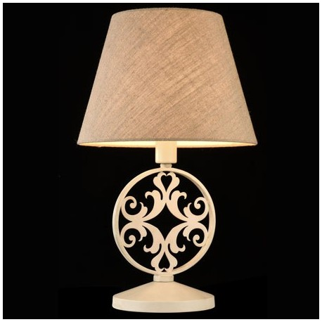 Comprar l mpara de mesa rustika home en forja color crema - Rustika decoracion ...