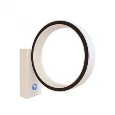 Aplique pared LED Basket blanco articulado regulable