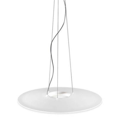 Lámpara colgante LP circular en blanco mate