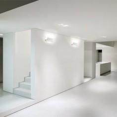 Lámpara aplique Or LED blanco cuadrado basculante