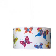 Lámpara colgante juvenil Mariposas de colores