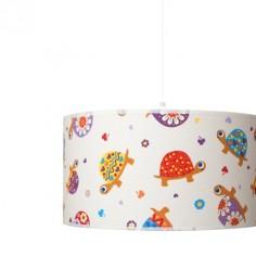 Lámpara colgante infantil Tortugas de colores