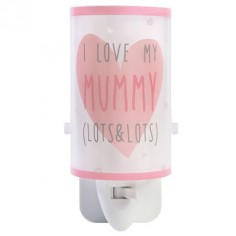 Quitamiedos infantil Mummy & Daddy en color rosa