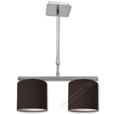 Lámpara moderna en cromo con...