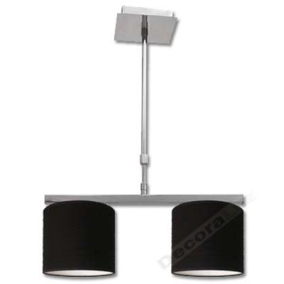 Lámpara cromo estilo moderno