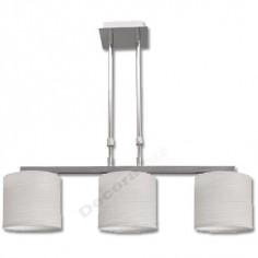 Lámpara con tres luces y estilo actual para hogares modernos