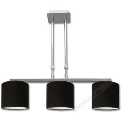 Lámpara en cromo brillante con altura...