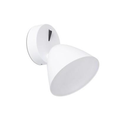 Aplique pared LED integrado Flash blanco orientable