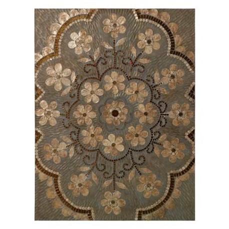 Comprar Cuadro Decoraci N Retablo Madera Flores Mosaico N Car
