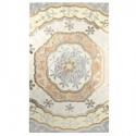 Retablo decoración pared Mosaico flores en nácar y cristales colores