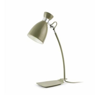 Lámpara de sobremesa Retro metal en verde