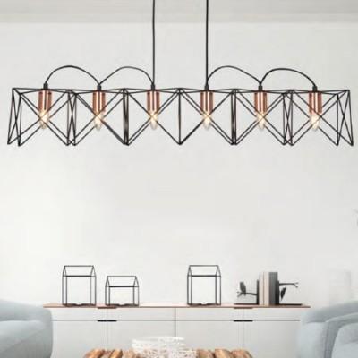 Comprar L Mpara Techo Moderna Lineal Athnea Seis Luces En