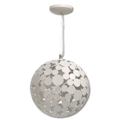 Lámpara colgante moderna bola grande círculos
