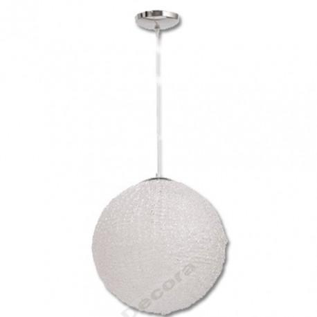 Comprar l mpara colgante moderna bola pvc grande - Lamparas colgantes modernas ...