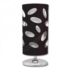 Lámpara sobremesa moderna pantalla color negro
