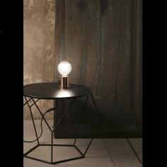 Lámpara sobremesa moderna Ten metal cobre