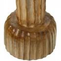 Cactus decoración grande marrón en madera