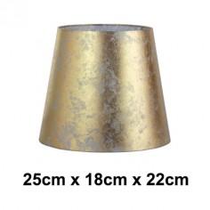 Pantalla lámpara Hermes pan de oro formato normal alta