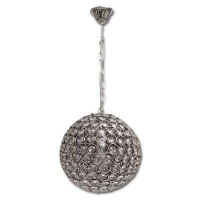 Colgante moderno bola cristal 1XE27 25cm diámetro