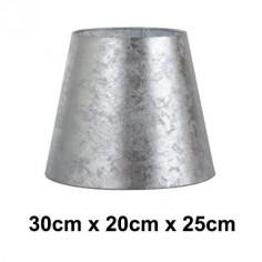 Pantalla de lámpara Hermes plata formato normal alta