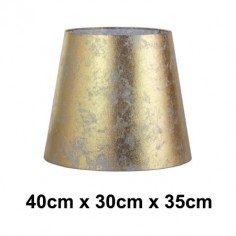 Pantalla para lámpara Hermes en dorado normal alta