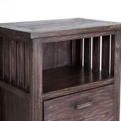 Sinfonier Antalia estilo colonial cuatro cajones madera wengué