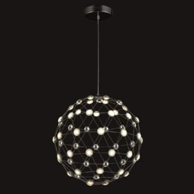 Lámpara moderna LED Sferika cromo bola con puntos de luz