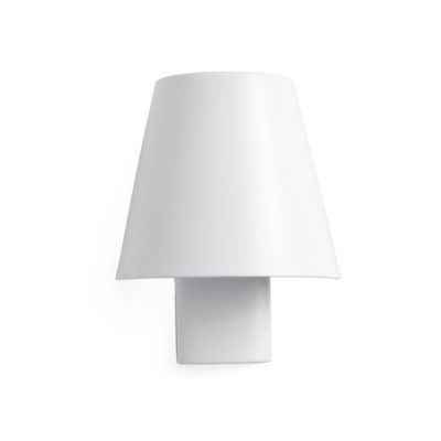 Lámpara pared LED Le Petit metal blanco orientable