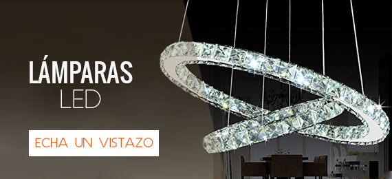 Lámparas Led en Decoraluz