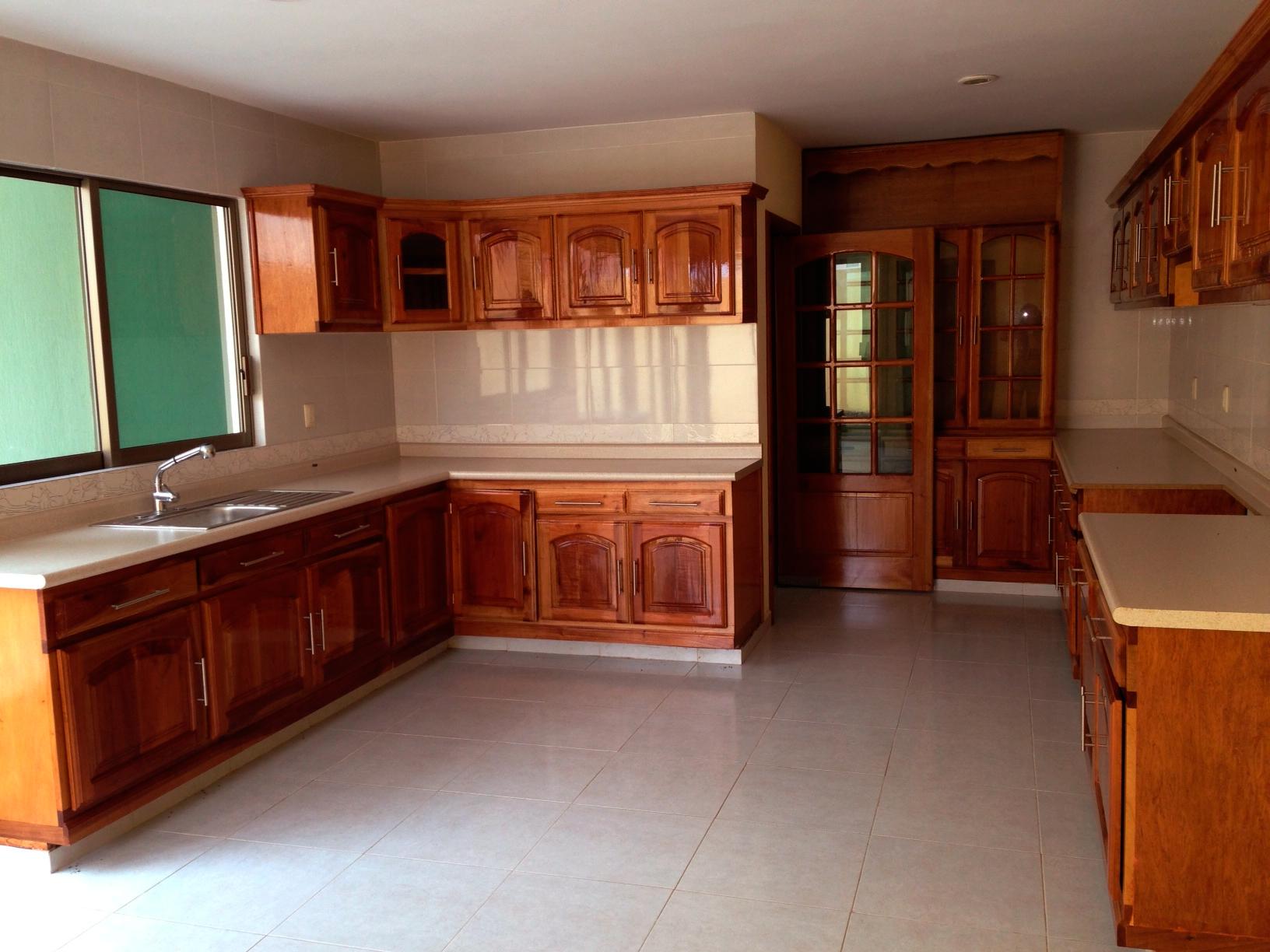 Construir tu nueva vivienda hogar - Cocinas de madera modernas ...