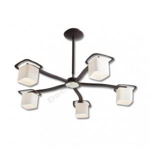 lampara de cinco luces