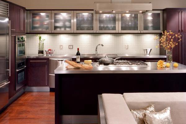 Iluminación en cocinas modernas