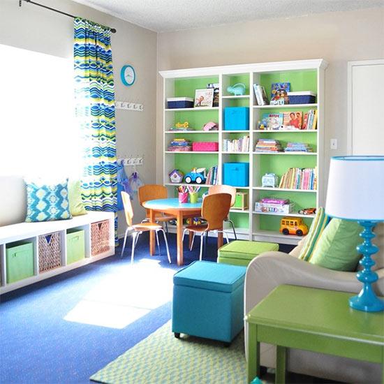 Decorando la habitación de niños