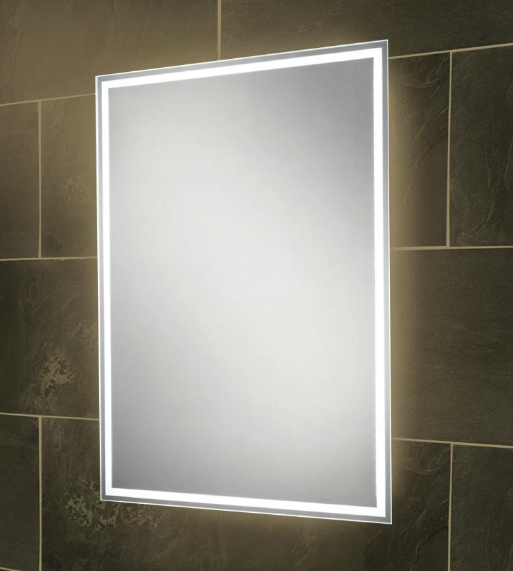 Iluminación led en espejos