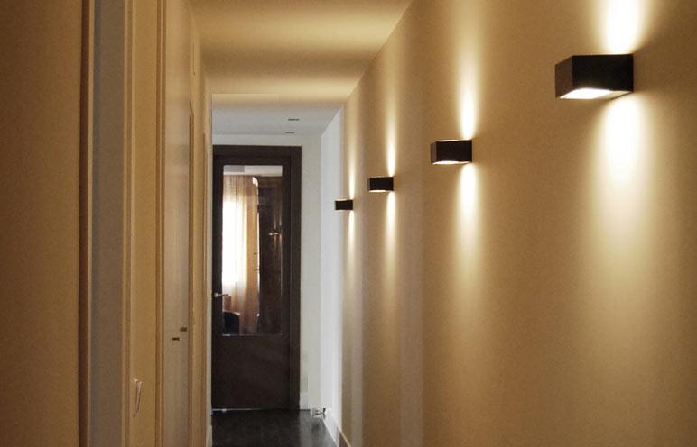 La forma de iluminar - Iluminacion de pasillos ...