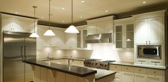 Iluminado la cocina
