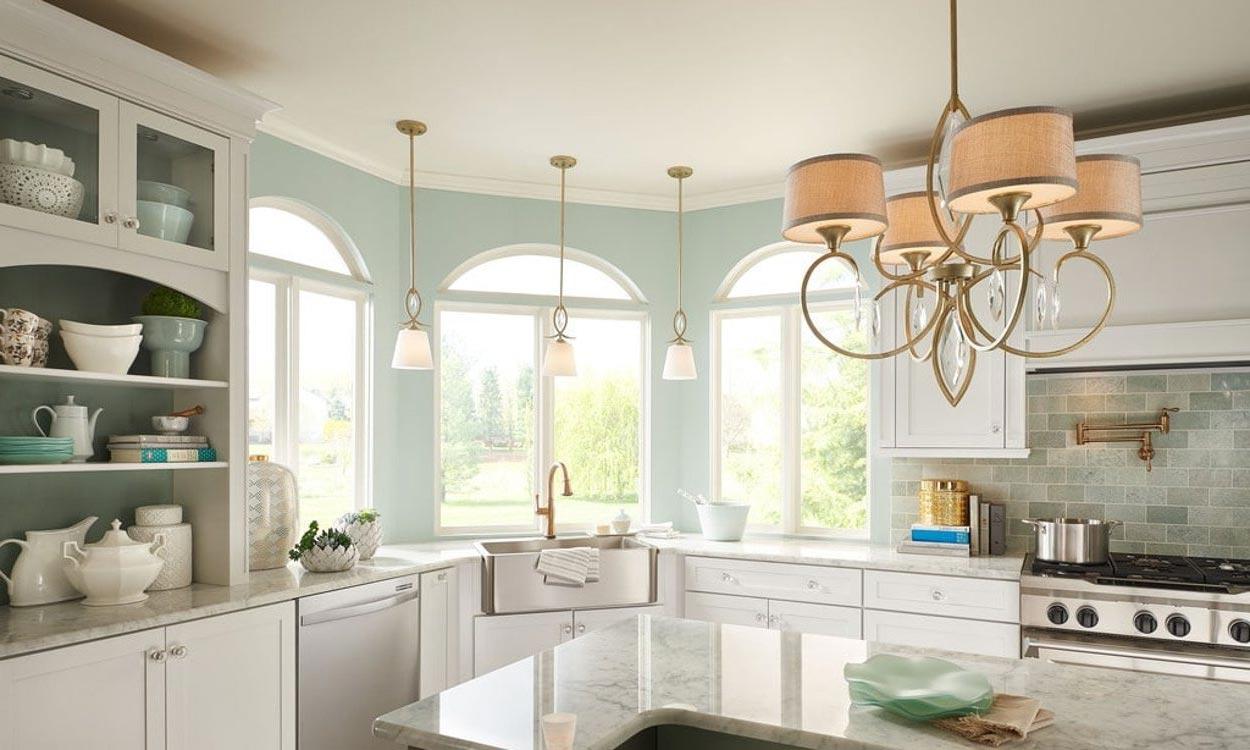 Lámparas de techo para la cocina en decoraluz