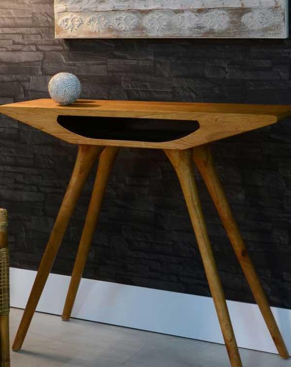 Mueble entradita para espacios reducidos