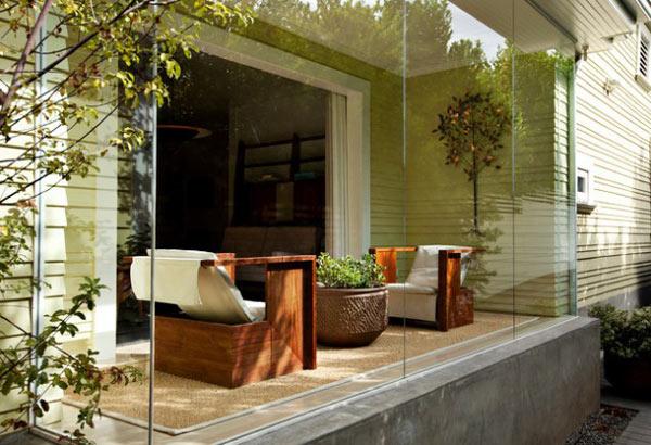 Ideas para tu terraza moderna for Decorar terraza patio interior